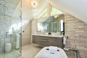 luxury designer bathroom