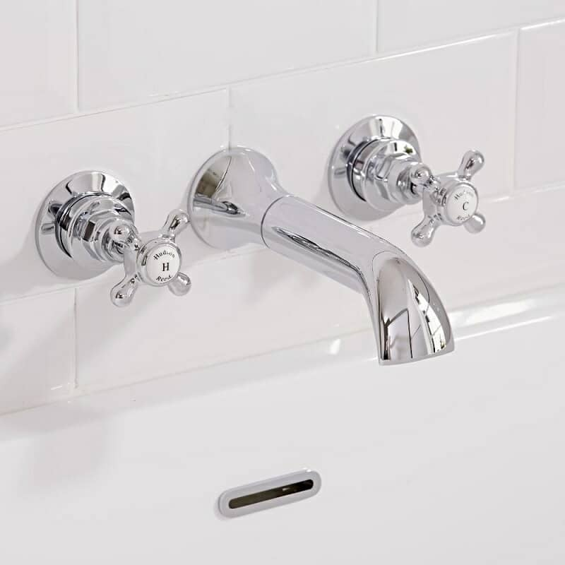 wall mounted bath tap