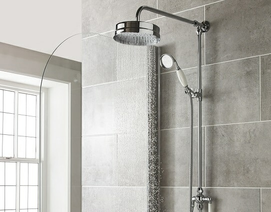 traditional shower system