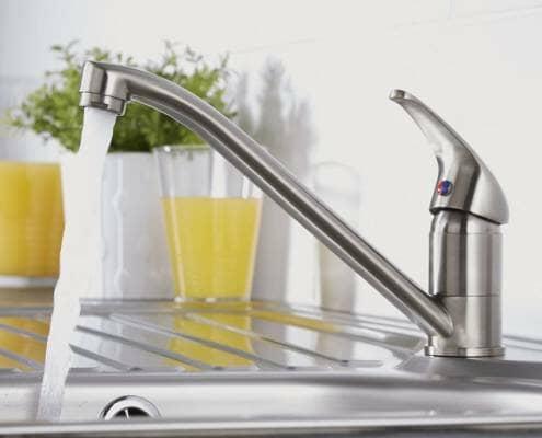 mono kitchen sink tap with long spout