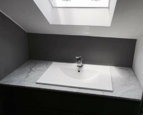 Loo with a View - inset basin