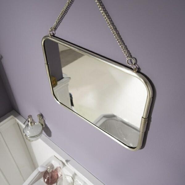 vintage bathrom mirror