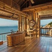 Six Senses Ninh Van Bay hotel bathroom, Nha Trang, Vietnam