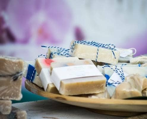 Home made soap bars