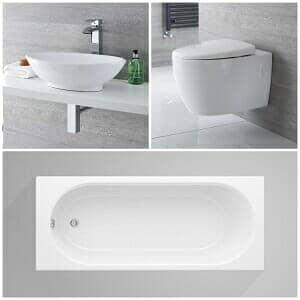 Milano Altham Bathroom Suite from Big Bathroom Shop