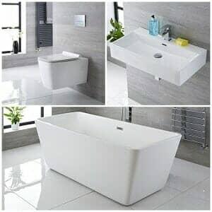 Milano Eslwick bathroom suite available at Big Bathroom Shop