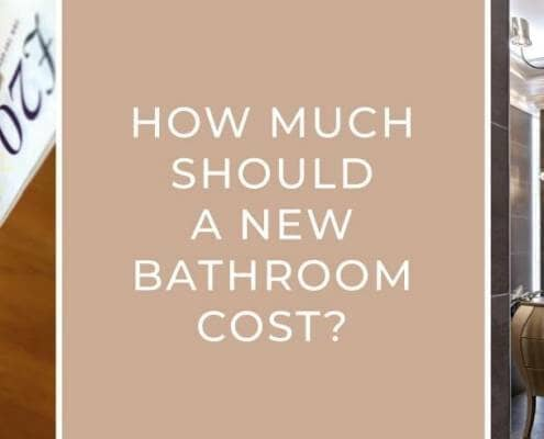 How much should a new bathroom cost blog banner image