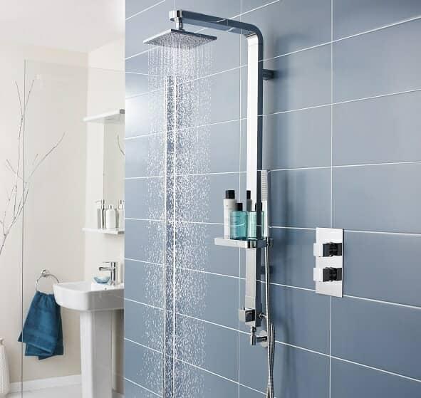 modern shower kit
