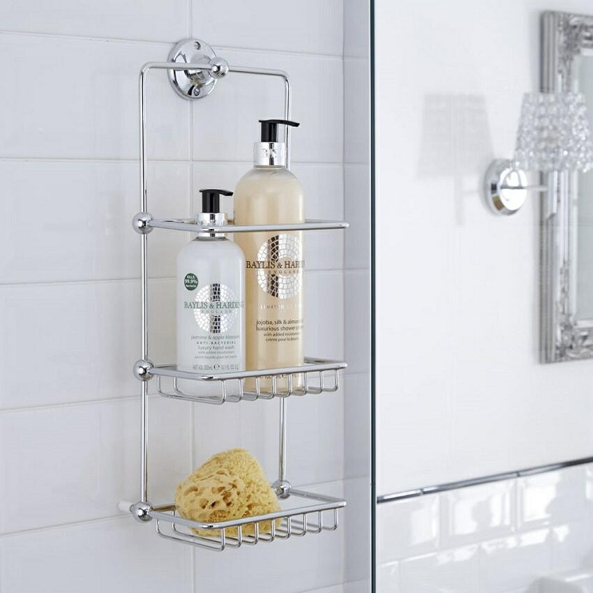 Wall hung shower-tidy