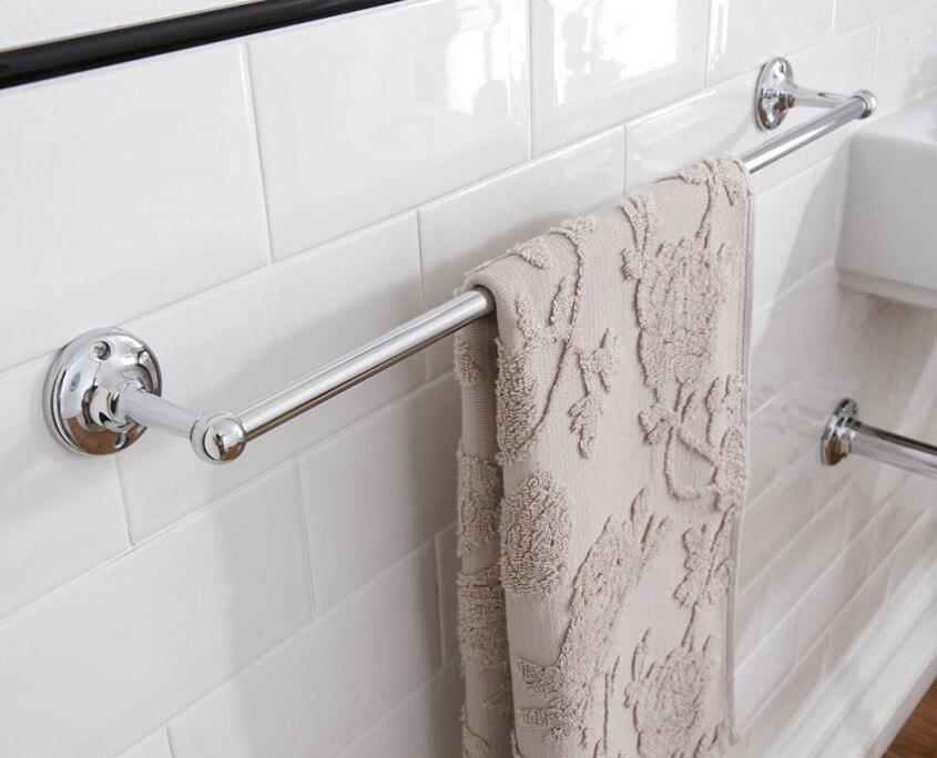 bathroom towel rail