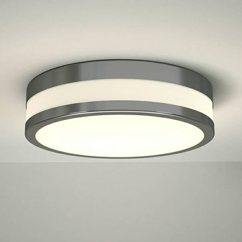 round bathroom ceiling light