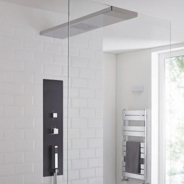 concealed shower tower
