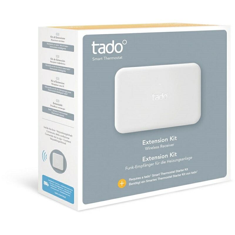 Tado smart thermostat extension kit
