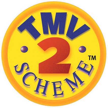 TMV 2 Scheme badge