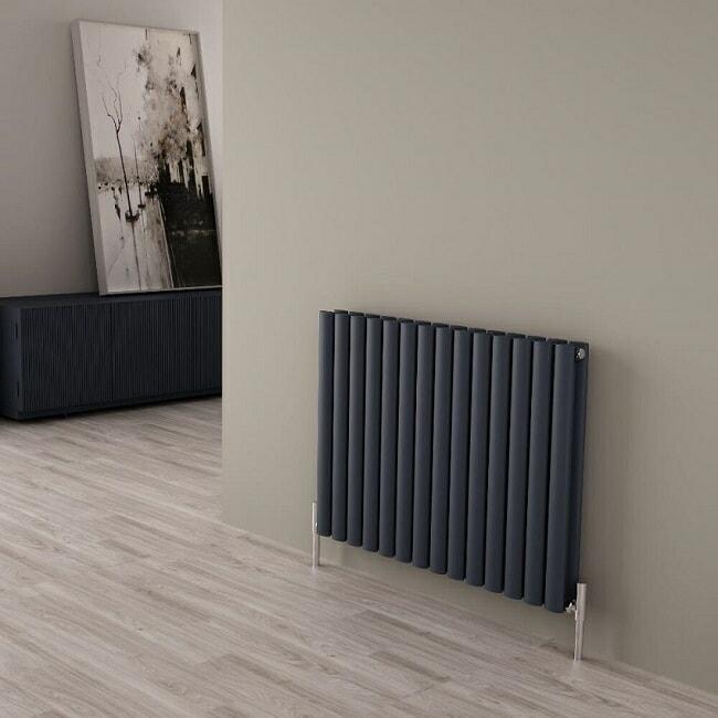 Anthracite designer radiator