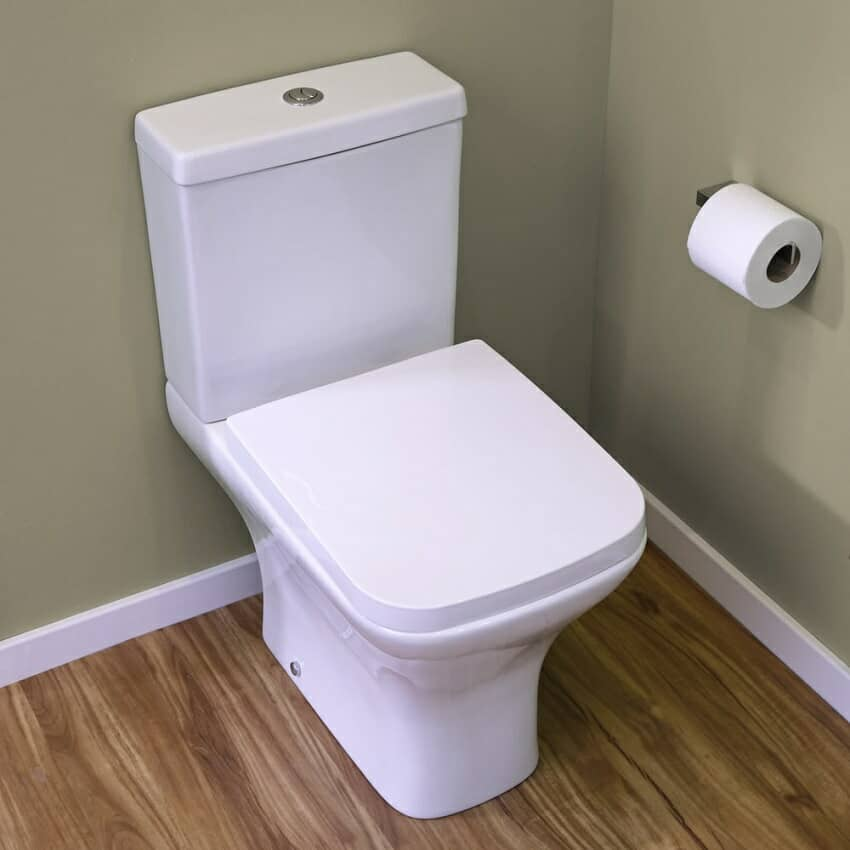 close-coupled toilet