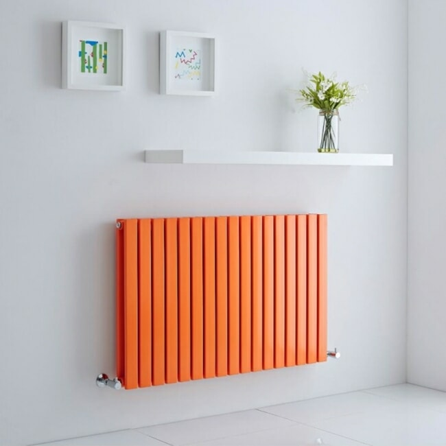 milano capri orange radiator