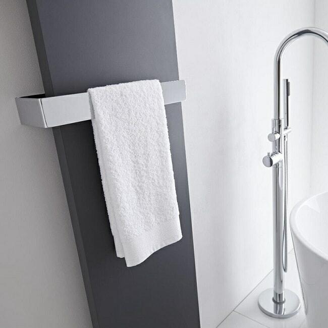 milano towel rail for designer radiator