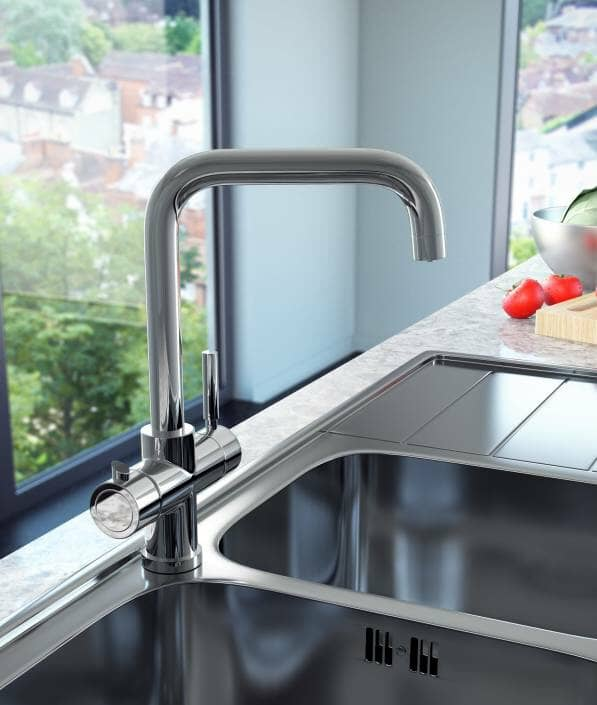 boiling hot water kitchen tap