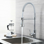 Milano Mirage Pull out kitchen tap in a modern kitchen