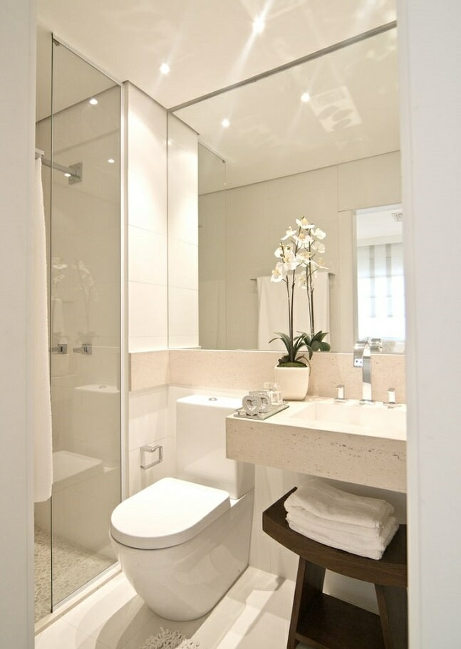 Small Bathroom Ideas that will Make the Most of a Tiny Space on Small Space Small Bathroom Ideas Uk id=95109