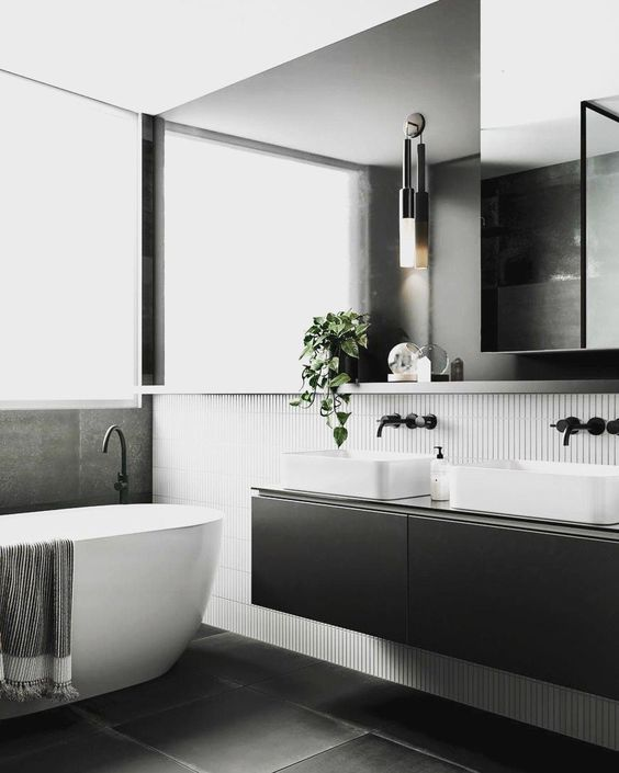 Black Bathroom Design Ideas Big Bathroom Shop