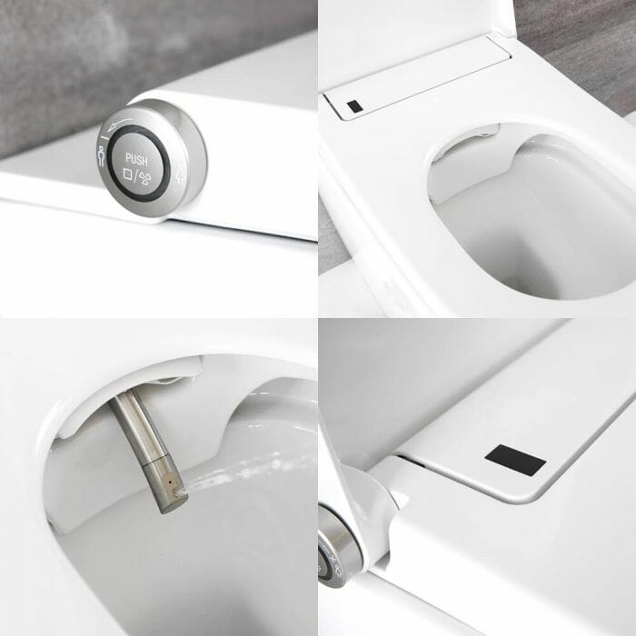 Japanese Toilet Features