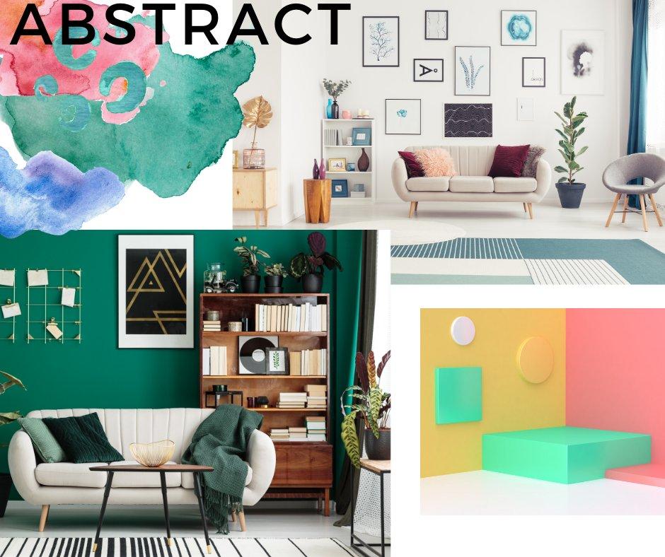 abstract interiors