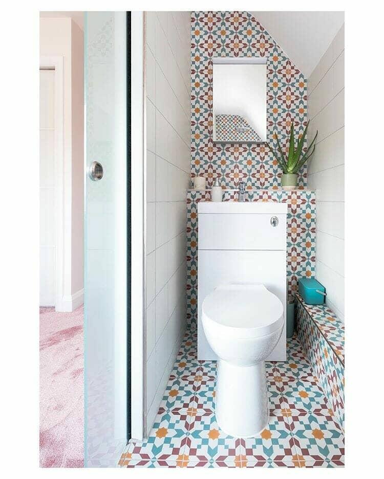 combination toilet unit