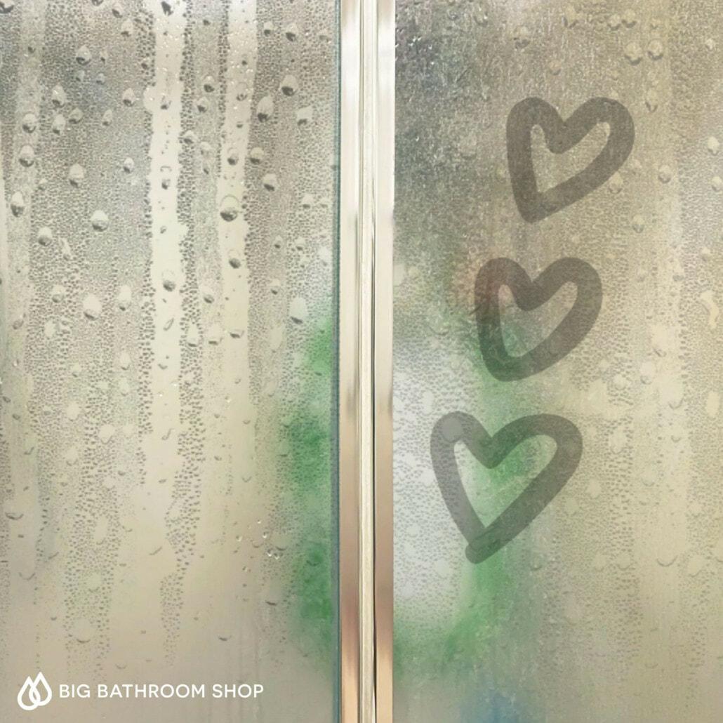 Steamy heart doodle