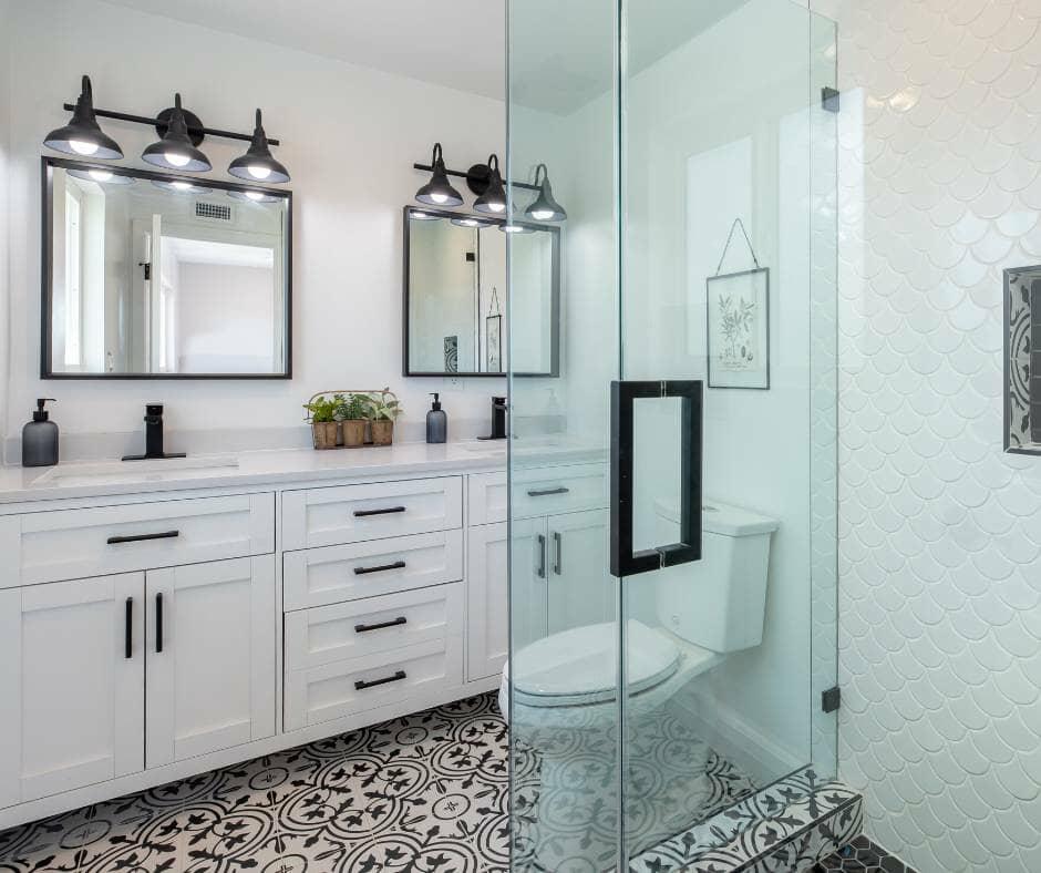 family bathroom storage