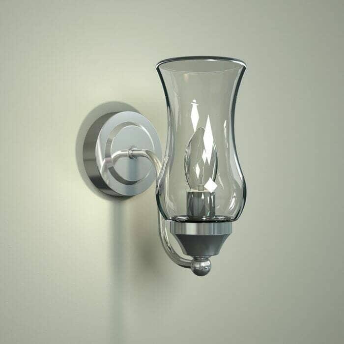 wall hung bathroom light