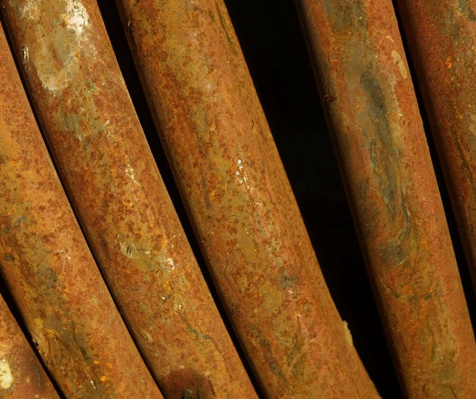 rusty pipes