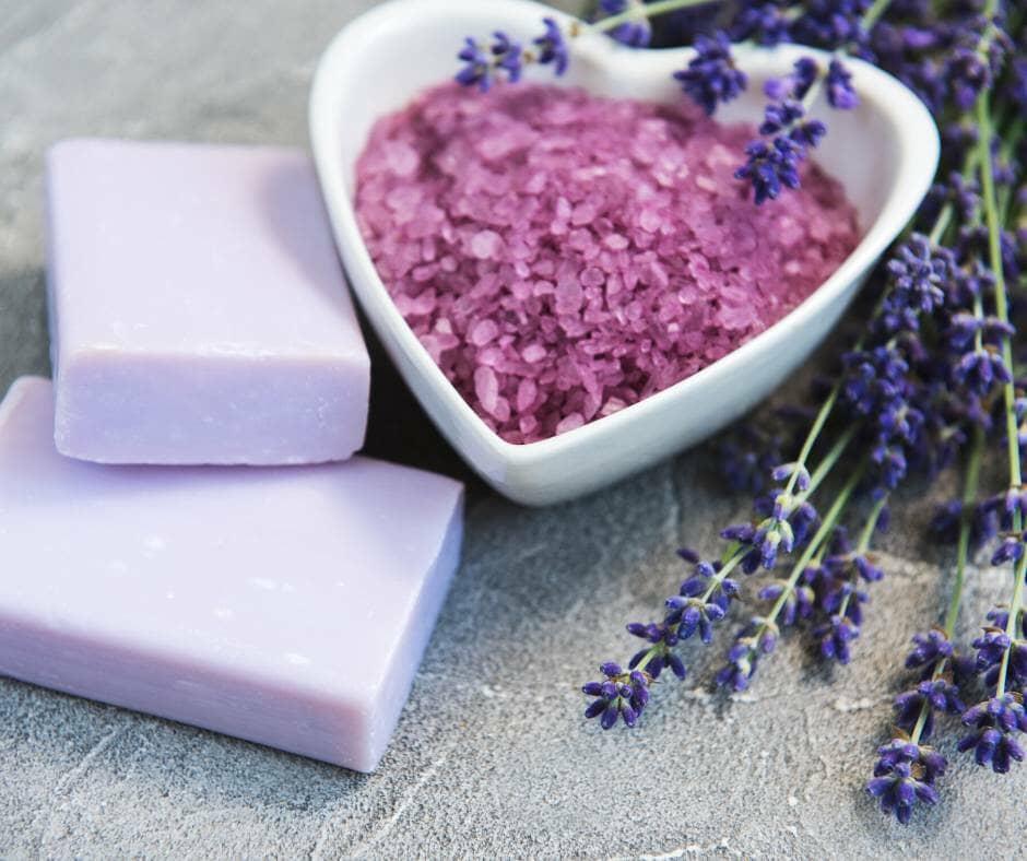 coloured soap