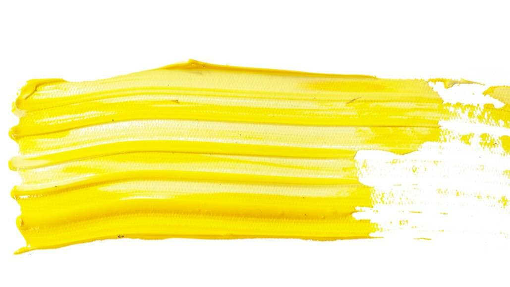 yellow paint mark