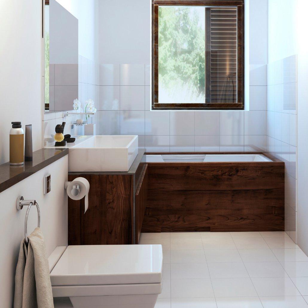 eclectic rustic bathroom
