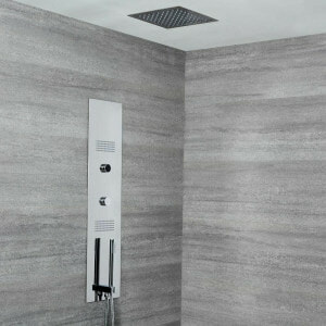concealed digital shower chrome