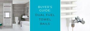 Duel Fuel Towel Rails at Big Bathroom Shop blog banner