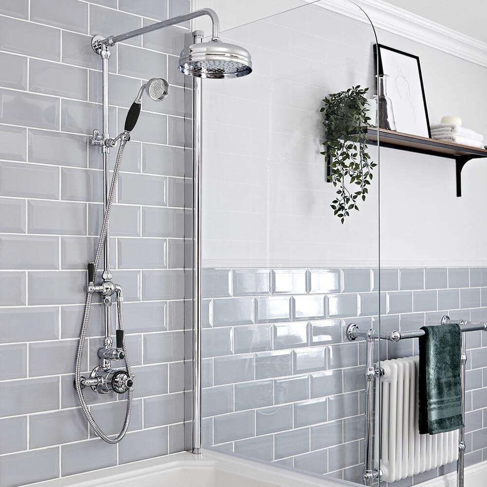 elizabeth chrome shower system