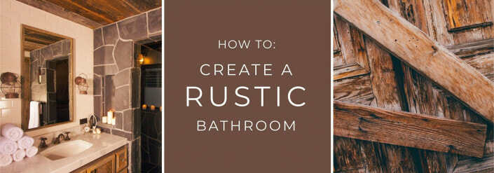 how to create a rustic bathroom banner image