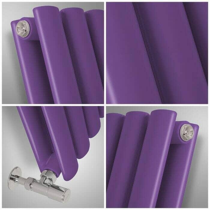 purple radiator