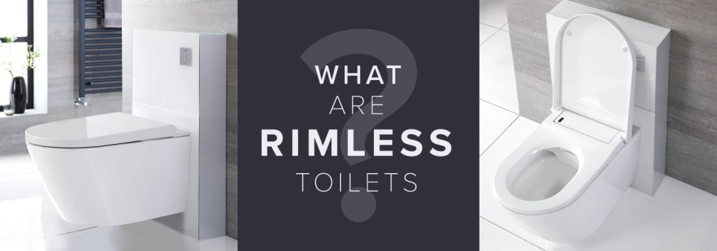 rimless toilet blog header image with text