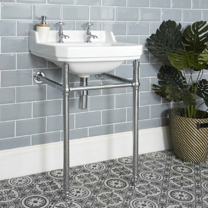 traditional washstand