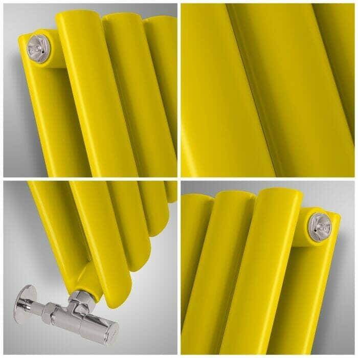 Yellow radiator