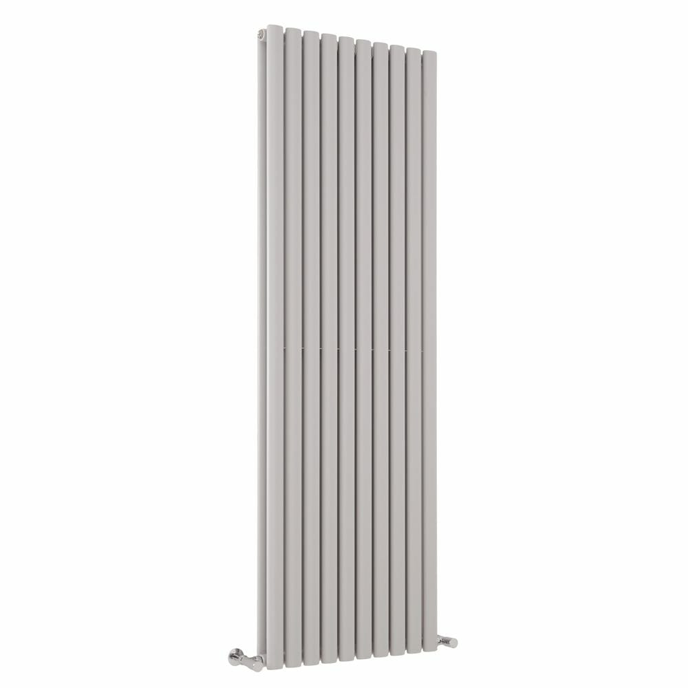 Milano Aruba light grey vertical radiator