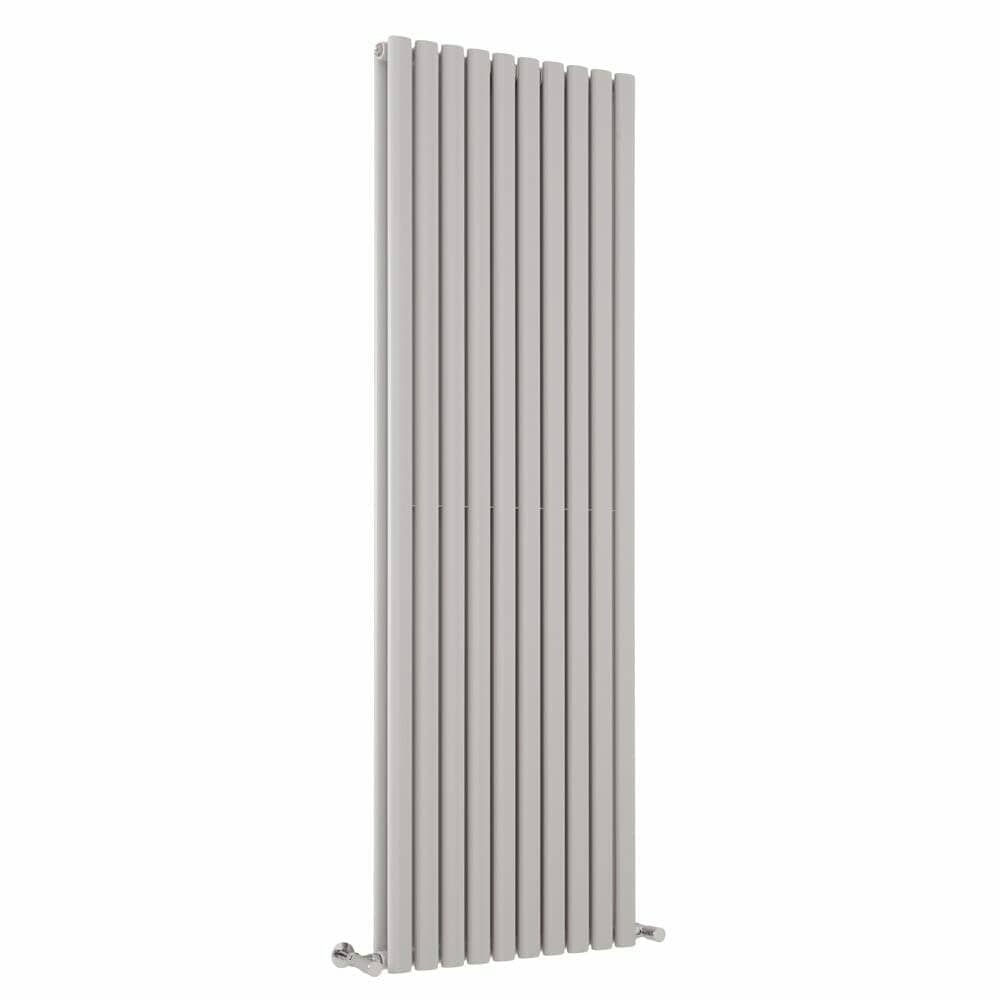 Milano Aruba light grey vertical radiator