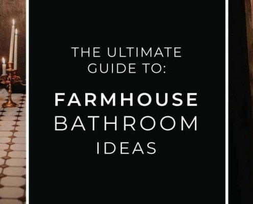 farmhouse bathroom ideas guide blog banner
