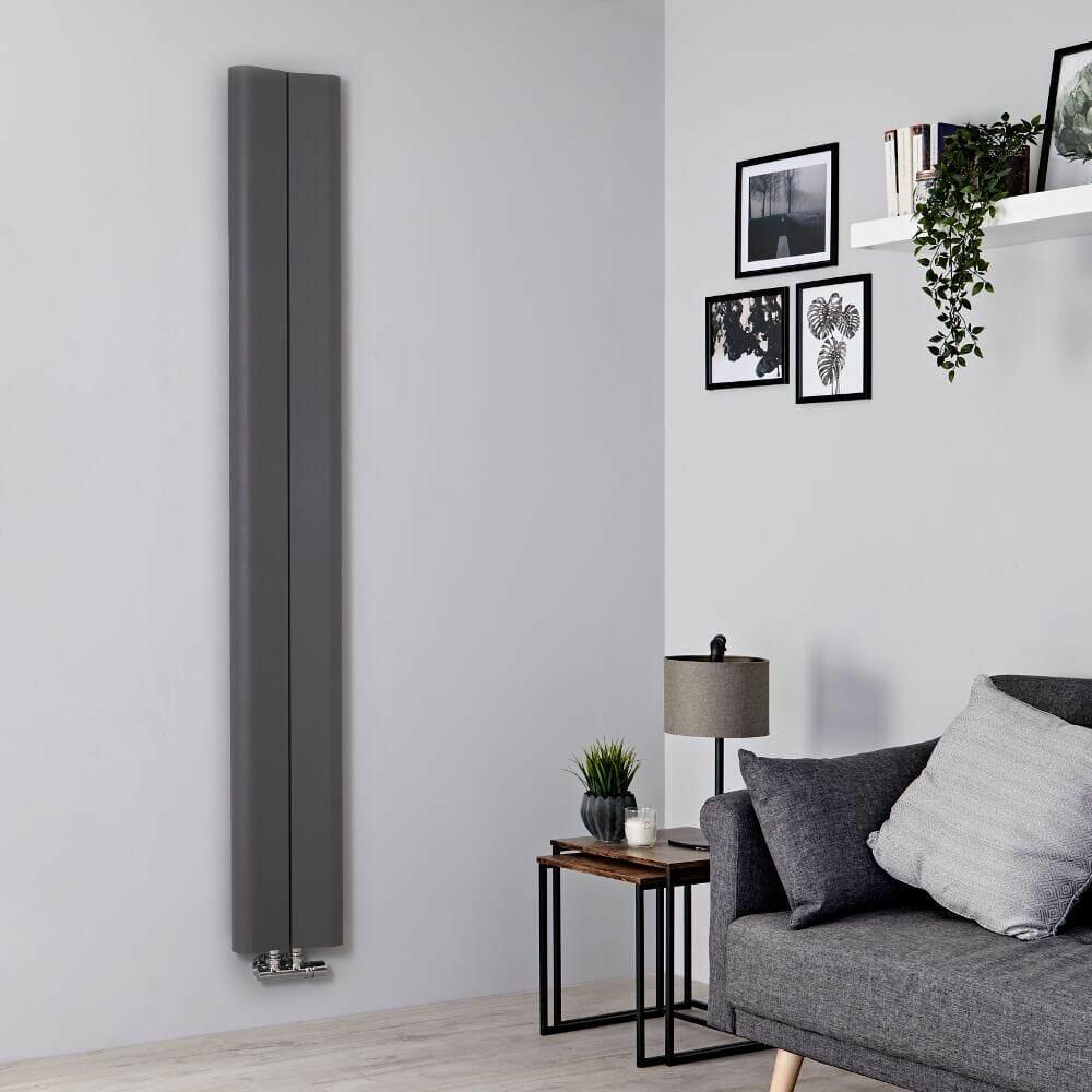 Milano Solis vertical radiator