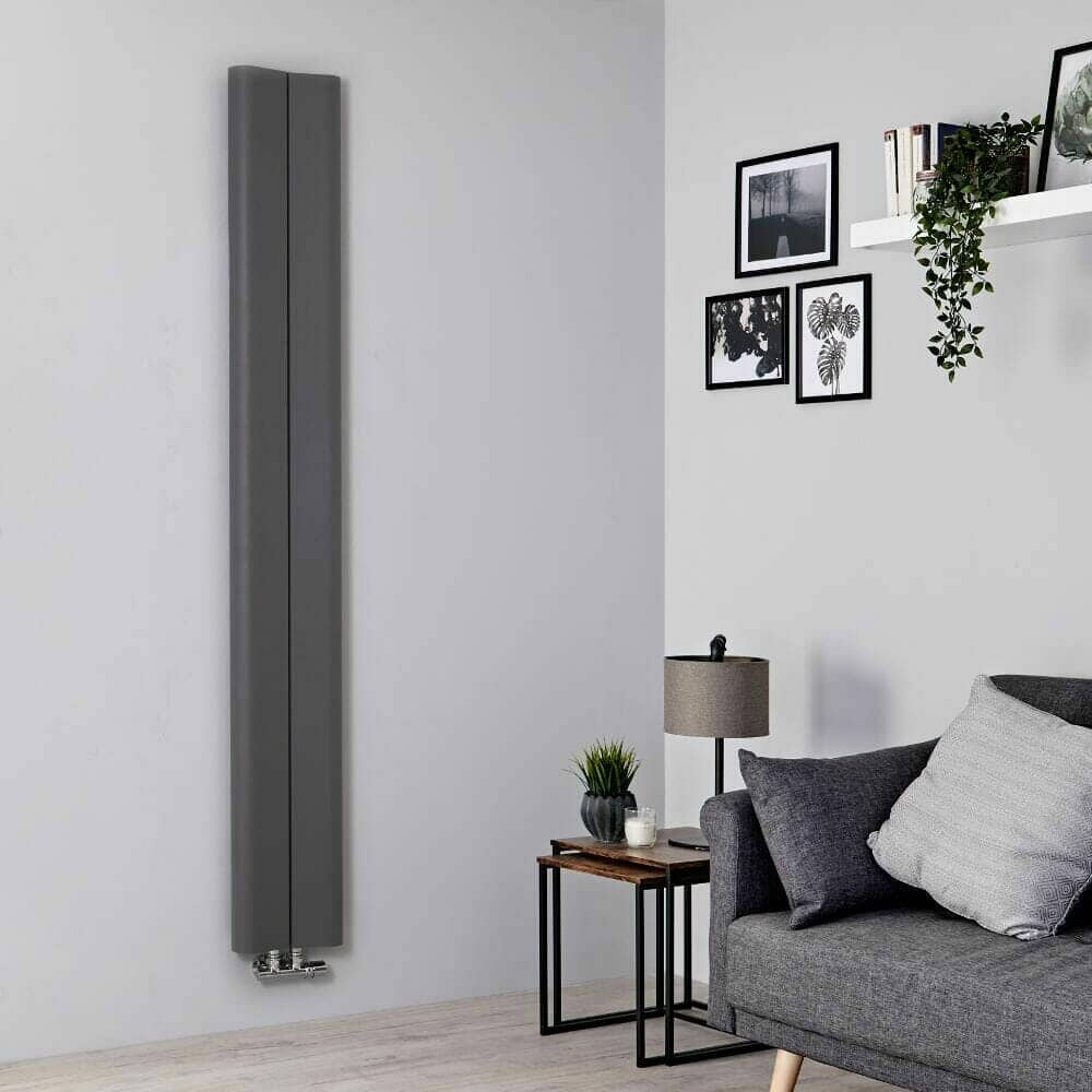 Milano Solis vertical radiator