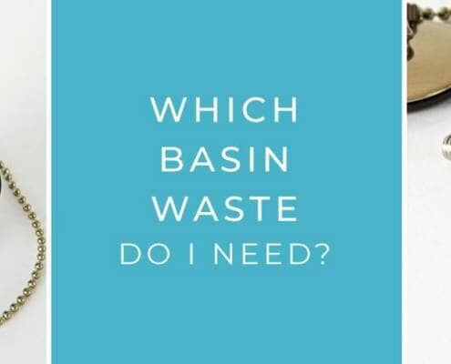 which basin waste do i need blog banner header image